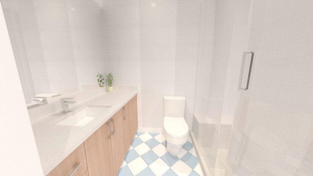 A Further Bathroom Rendering