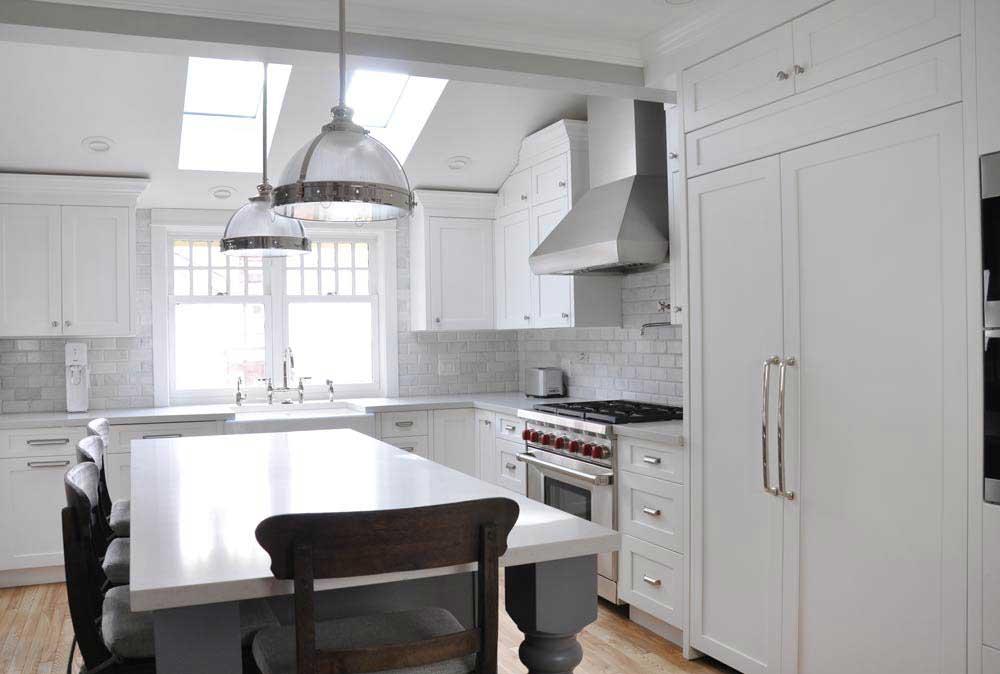 Kitchen Cabinet Design - Coordinated Kitchen and Bath