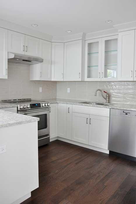 Modern Kitchen Renovation - Coordinated Kitchen and Bath